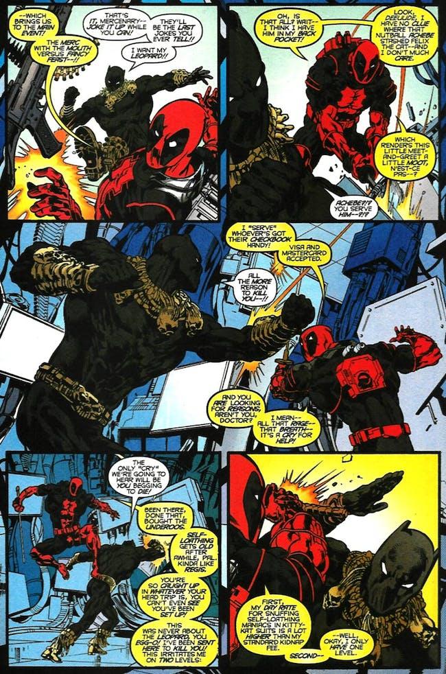 Black Panther Killmonger Deadpool