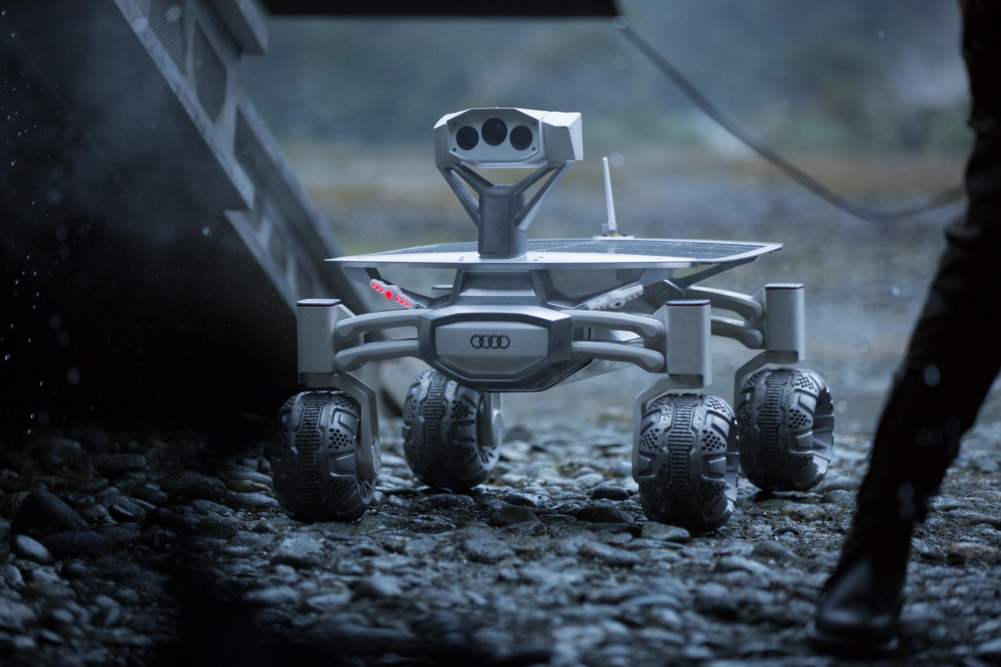 Moon Rover Audi lunar quattro Featured in