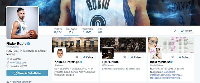 ricky rubio twitter draft deadline