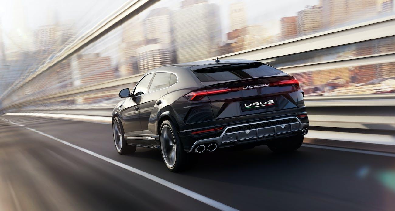 Urus rear.