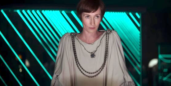Mon Mothma in 'Rogue One.' The character originally appeared in 1983's 'Return of the Jedi.'