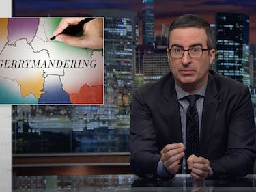 "John Oliver Slams Gerrymandering: ""Voices Should Be Fully Heard"""