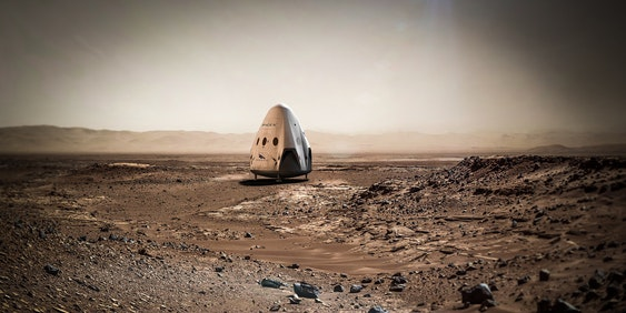 SpaceX's Red Dragon