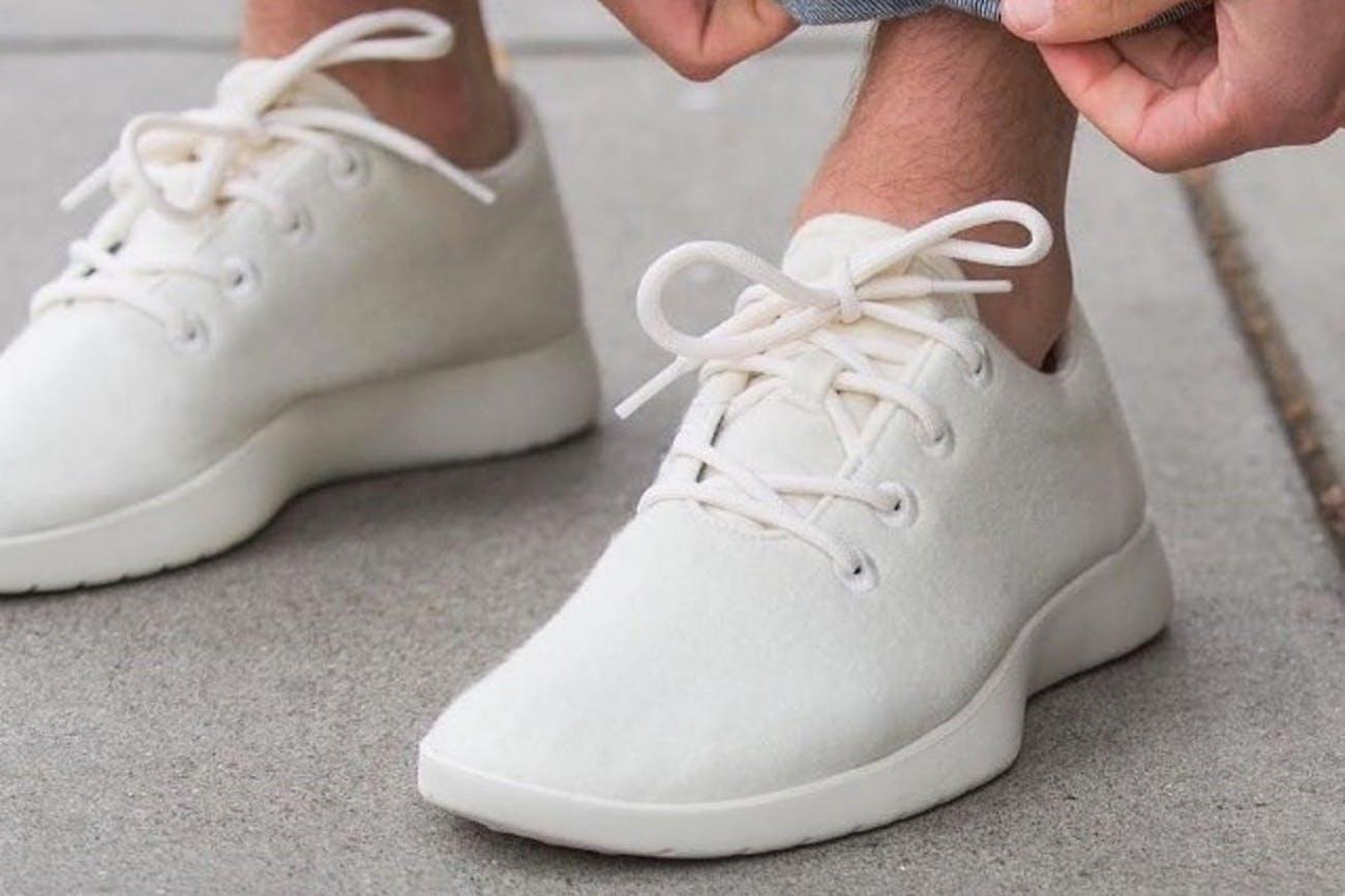 Allbirds sockless shoes