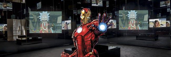 Dan Slott compared his new 'Tony Stark: Iron Man' comic to 'Rick and Morty' and 'Black Mirror'.