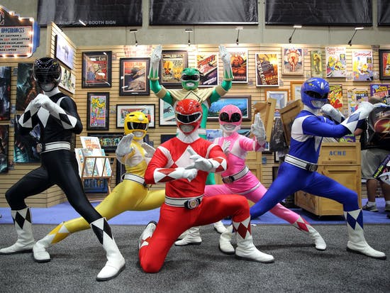 Your Favorite '90s Power Rangers Are Reuniting For a New Movie Called 'The Order'