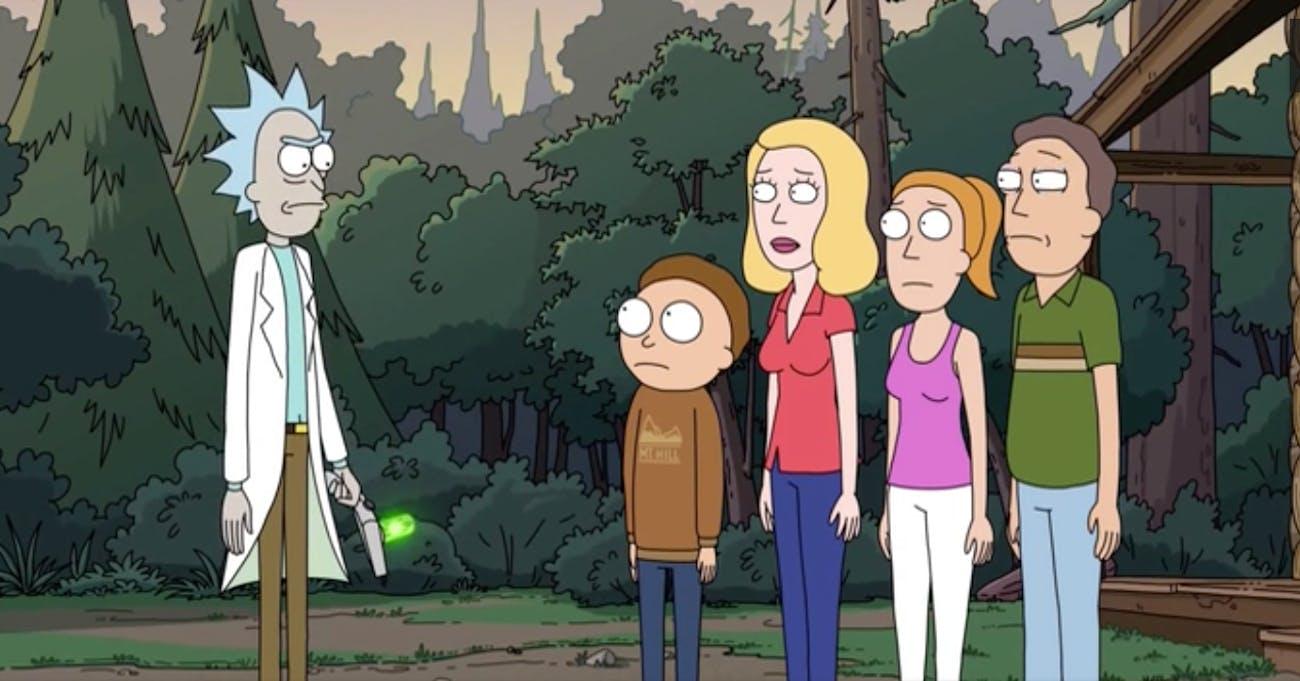 It's the Smith family against Rick Sanchez.