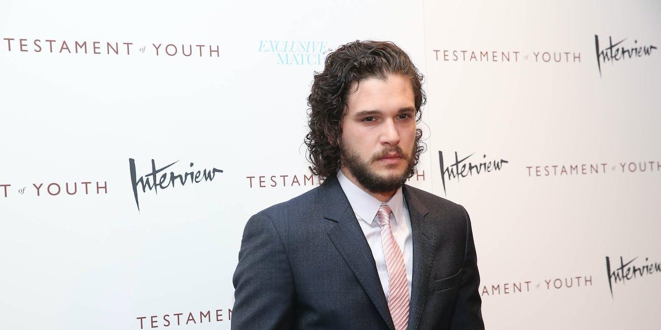Game Of Throness Kit Harington Is Sick Of Being Jon Snow Inverse