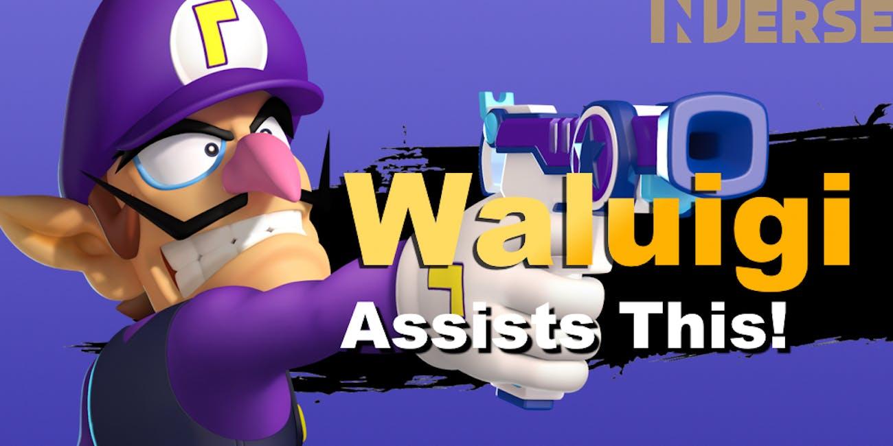 super smash bros ultimate roster leak suggests waluigi could make