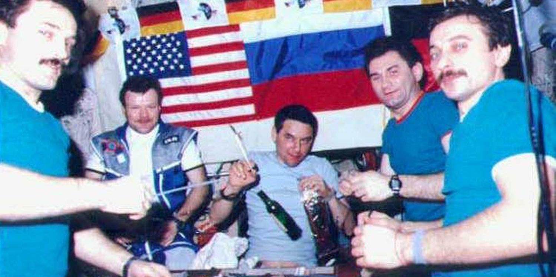 Alcohol in Space: A Brief History of Giving Zero Fucks in Zero Gravity