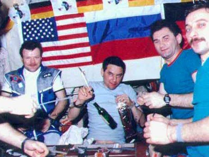 Alcohol in Space: A Brief History of Giving Zero Fucks in Zero Gravity