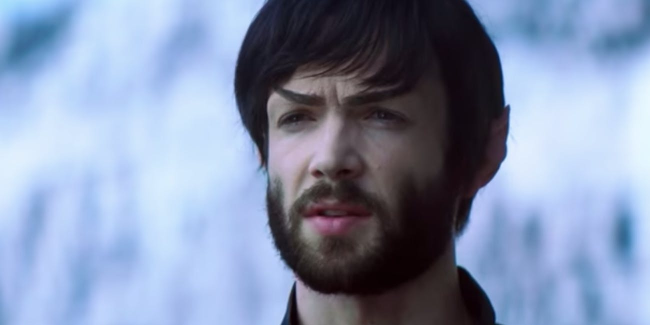 Ethan Peck as Spock