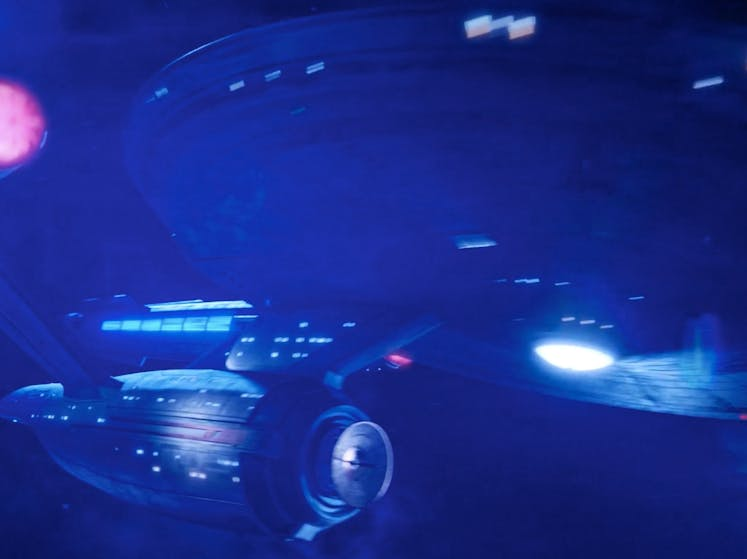 The new Enterprise in 'Discovery'