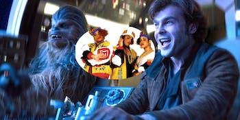 Han Solo and Salt-N-Pepa