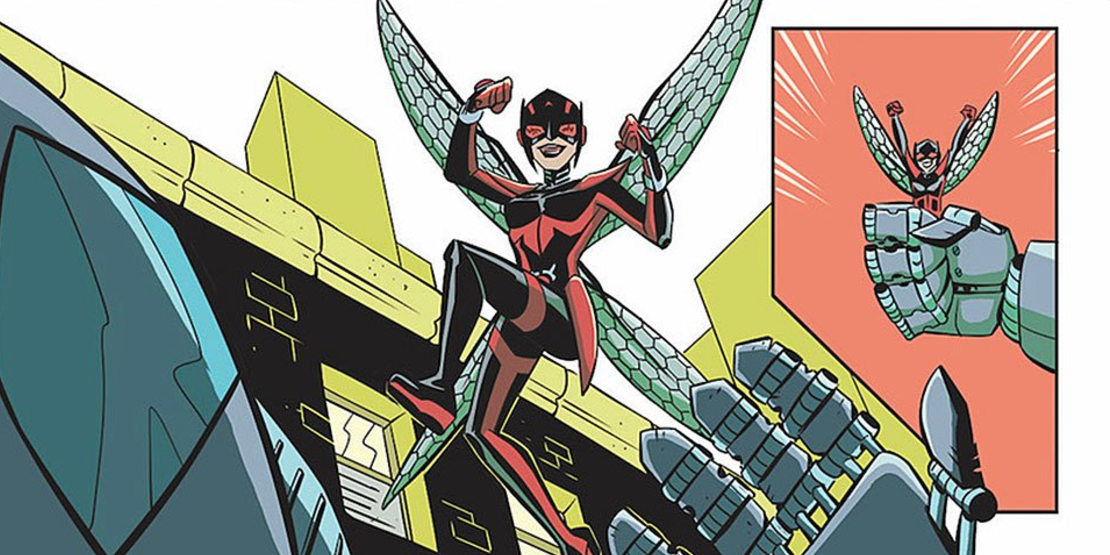 """The """"Unstoppable Wasp"""" series will profile real female scientists."""
