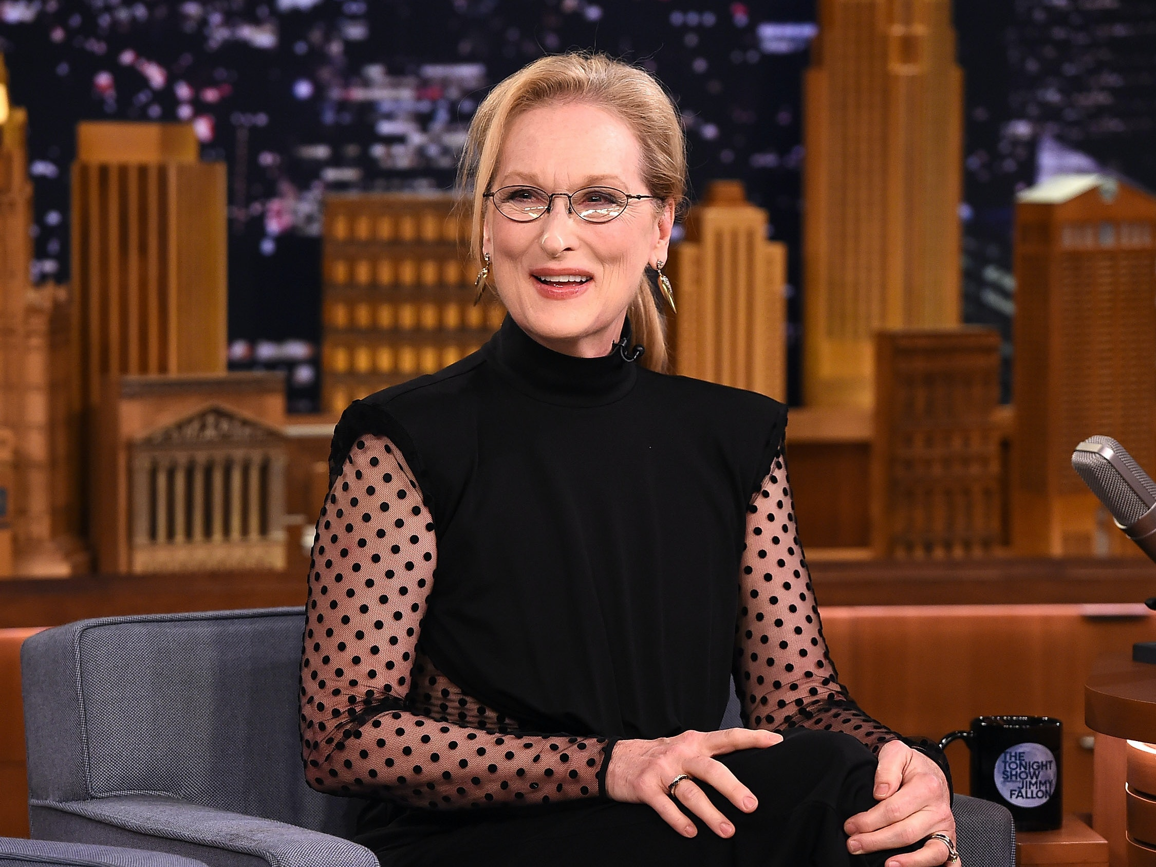 Why Meryl Streep's 'Rather Be a Rebel Than a Slave' Shirt Broke Twitter