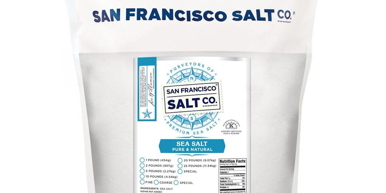 Pacific Ocean Gourmet Sea Salt Fine Grain 2 lbs