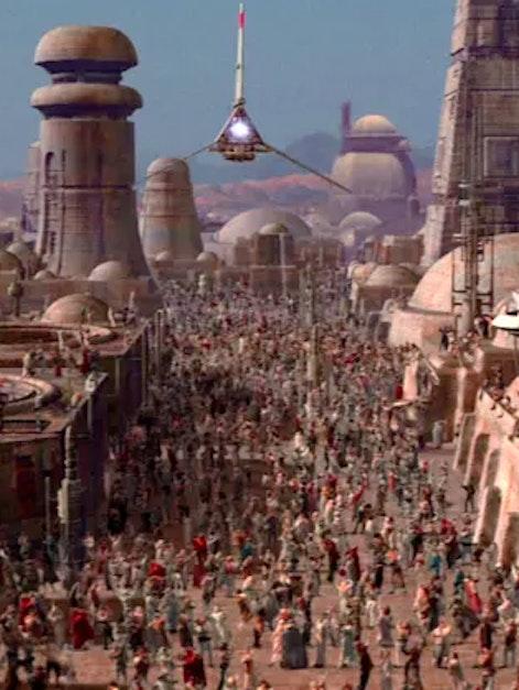 Tatooine in 'Star Wars'