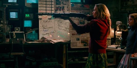 Details in 'A Quiet Place' confirm the entire world is like this.