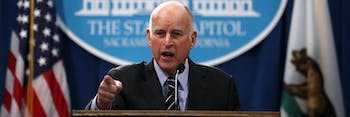 jerry brown california science