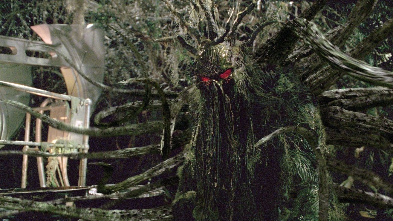 A still from 2005's 'Man-Thing'.
