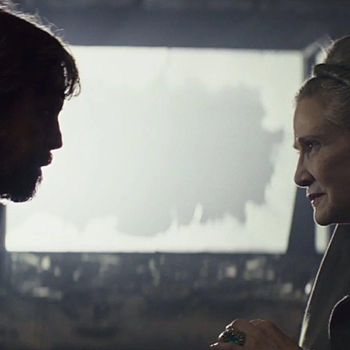 'Star Wars 9' leak suggests heavy de-aging CGI in opening scene flashback
