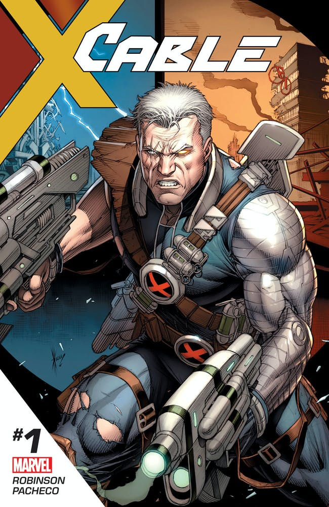 Cover for Cable #1 from Marvel Comics