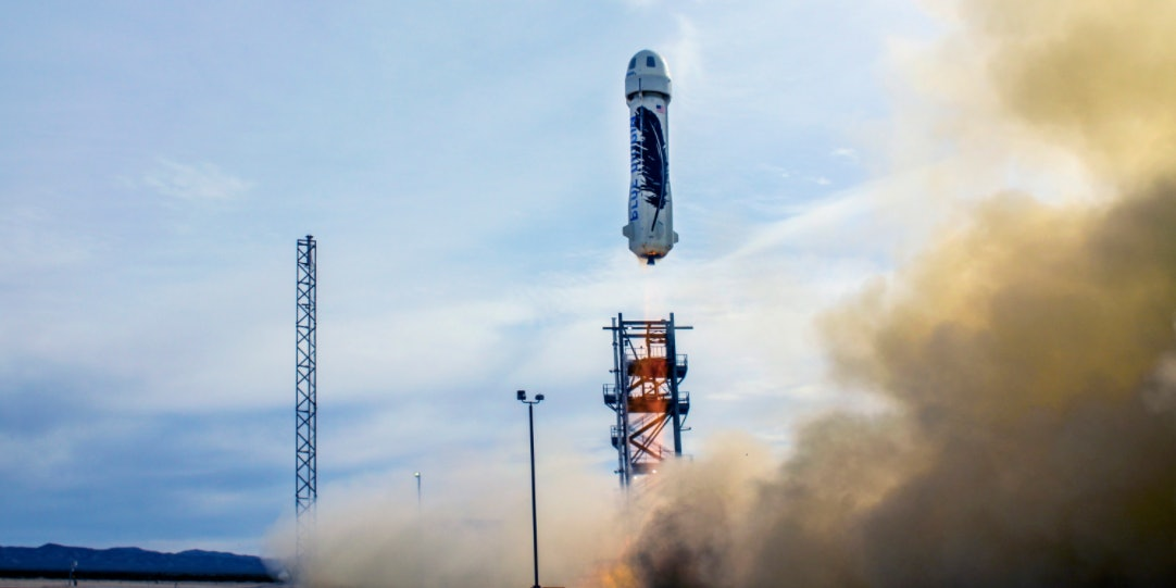 Jeff Bezos's Blue Origin private spaceflight company wants to launch a crewed mission to space in under a year.