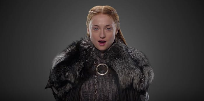 Sophie Turner in 'Game of Thrones' Season 7