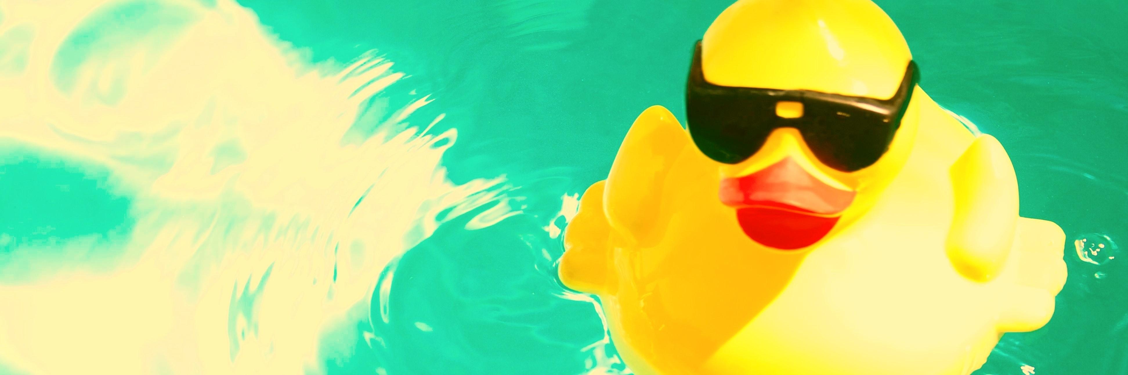 Rubber Ducky Alone