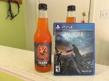 I Tasted the 'Final Fantasy XV' Wiz Soda So You Don't Have To