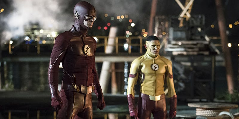 Keiynan Lonsdale as Wally West in 'The Flash' Season 3