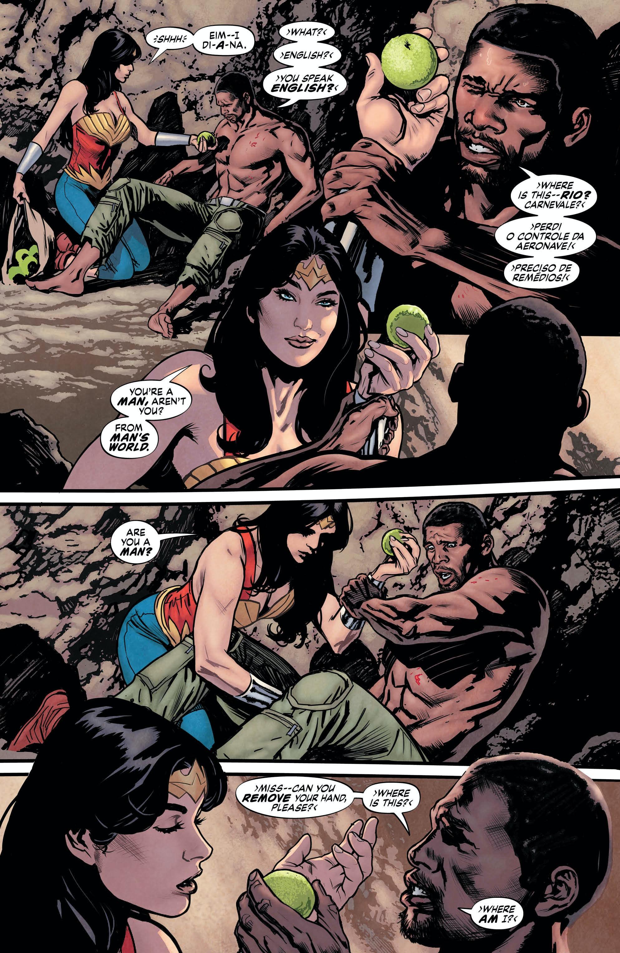 Wonder woman sex comix