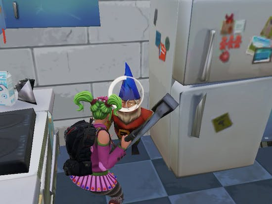 There are tons of Hungry Gnomes you can choose from for the 'Fortnite' Week 8 Challenge.