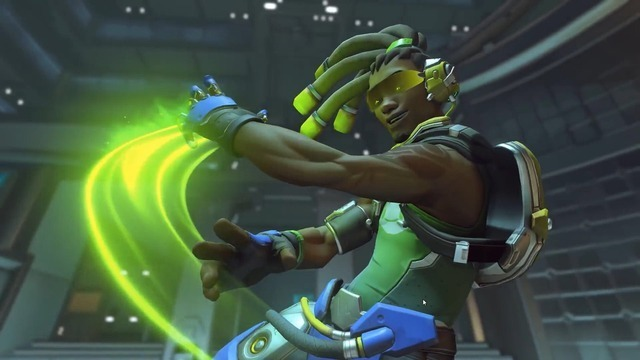Though Mercy tends to be the best healer for the job, Lúcio can also get the job done.