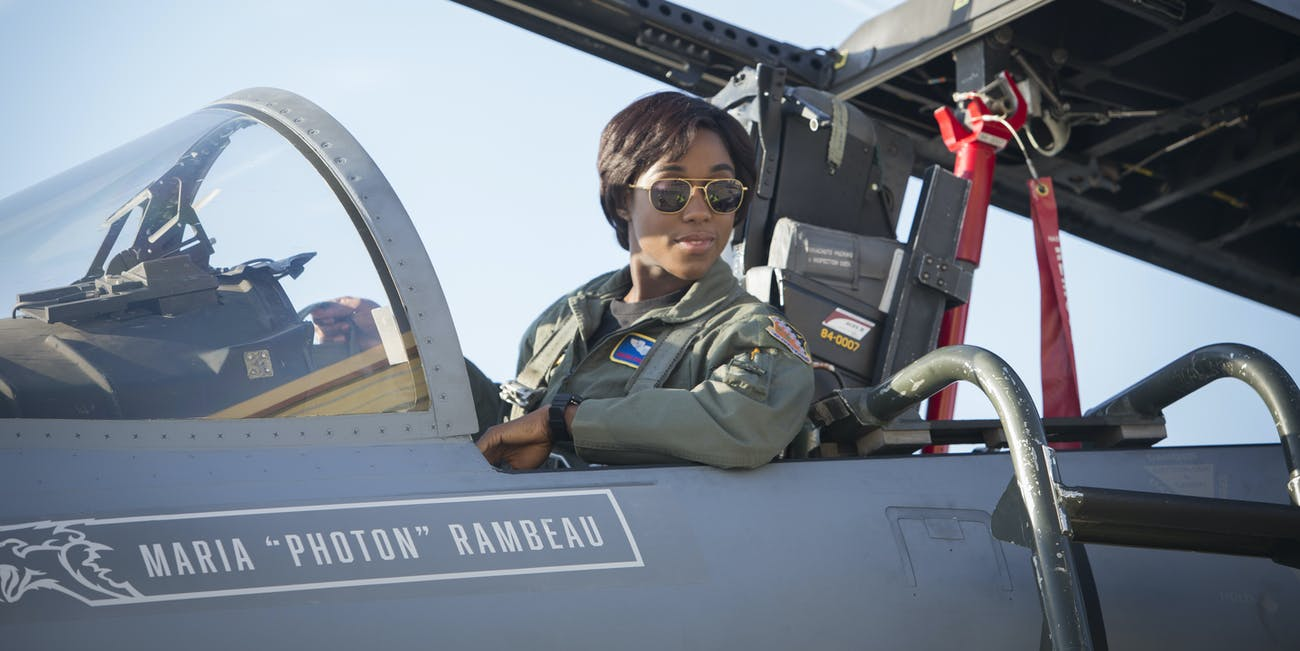 Maria Rambeau Captain Marvel
