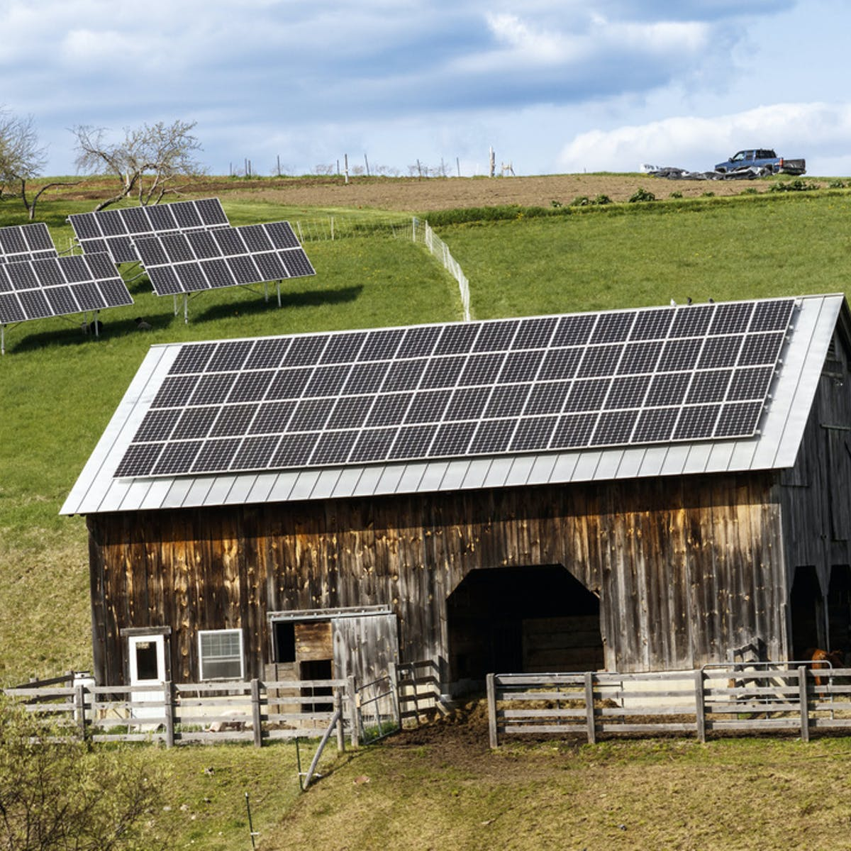 Could a Small Patch of Farmland Meet Humanity's Solar Power Needs?