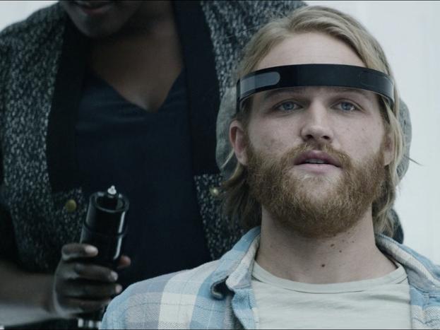 "Wyatt Russell in the 'Black Mirror' Season 3 episode ""Playtest"" directed by Dan Trachtenberg."