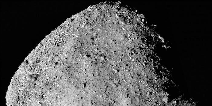 bennu asteroid water