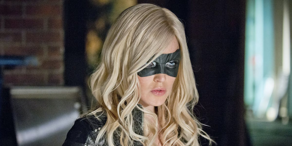 Caity Lotz as Canary on 'Arrow'
