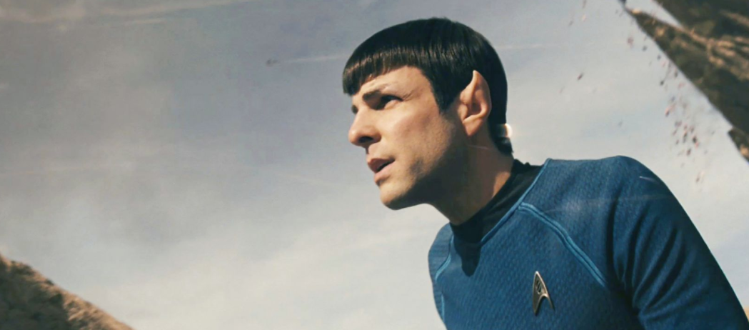 Zachary Quinto as Spock in 2009.