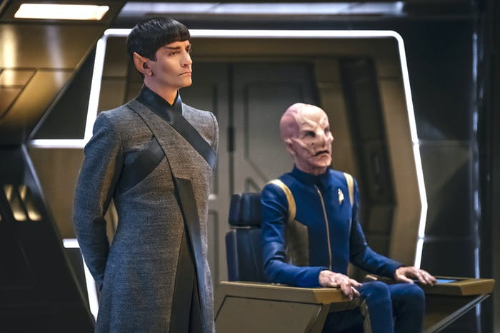 Sarek and Saru in 'Star Trek: Discovery'