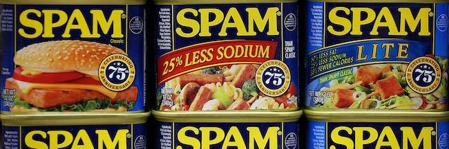 Spam varieties American history patriotism cuisine brand