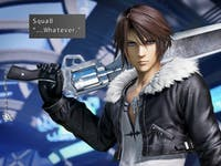 'Dissidia' version of Squall