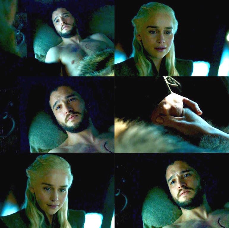 'Game of Thrones' Teases That Jon and Daenerys Will Have a ... Daario Naharis Game Of Thrones Season 4