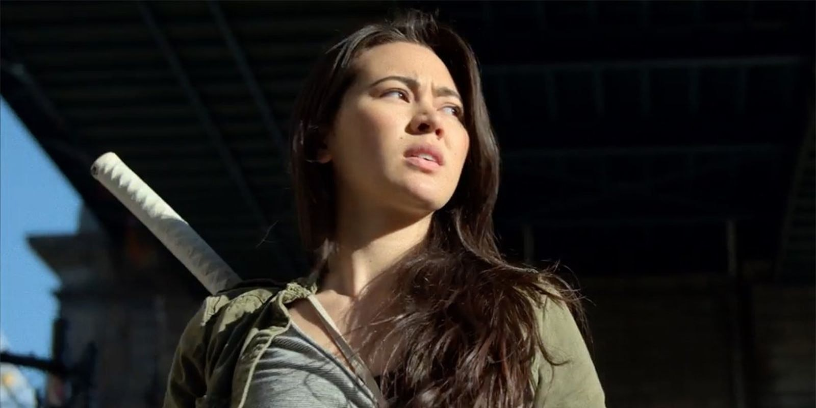 Tiny Colleen Wing Snaps a Dude's Shoulder in 'Iron Fist' Ad