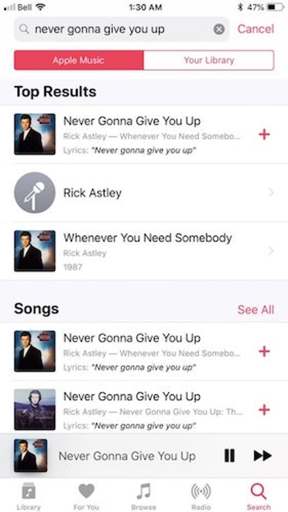 ios 12 apple music feature
