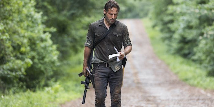 AMC Andrew Lincoln Walking Dead