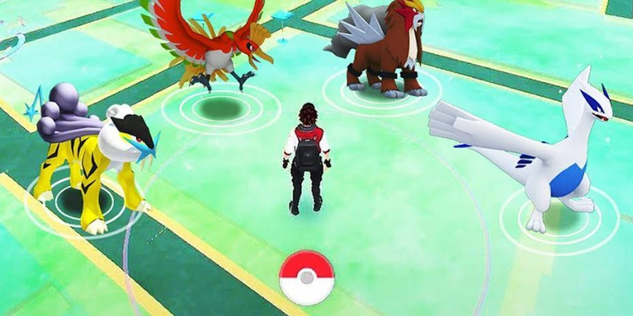 Legendary Pokemon in Pokemon Go from Niantic
