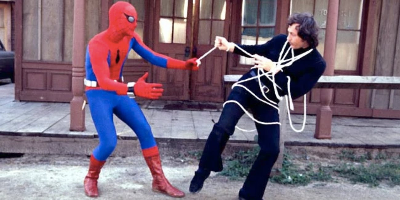 marvel movies Spider-Man strikes back 1978 review